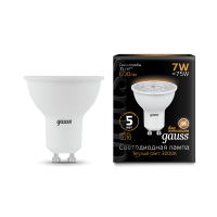 Лампа Gauss LED MR16 GU10 7W 2700K Black