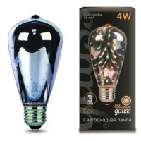 Лампа Gauss LED 3D-Butterfly E27 4W 147802404