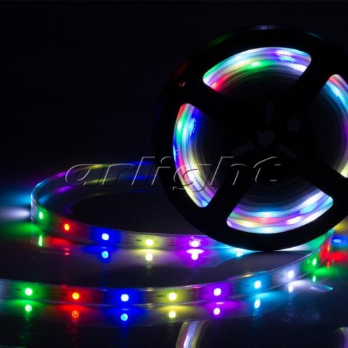 Лента SPI-5000P-AM 5V RGB (5060, 300 LED x1, 2812)