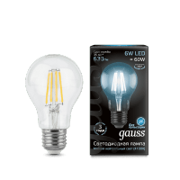 Лампа Gauss LED Шар Filament E27 9W 2700K